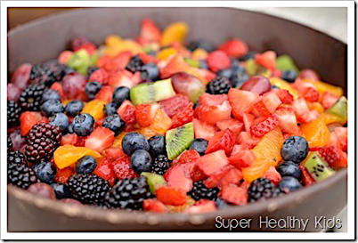 fruit salad healthy eating